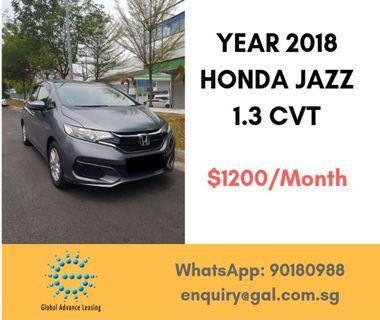 Cheap budget car rental New Honda Jazz