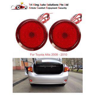 LED Rear Bumper Reflector Light for Toyota Altis (2008 - 2010)