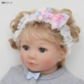 Panpantsutsu嬰兒髮圈(白色)