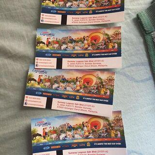 Sunway Lagoon family day ticket