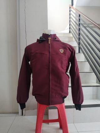 Jacket Taslan Bolak Balik WaterProof