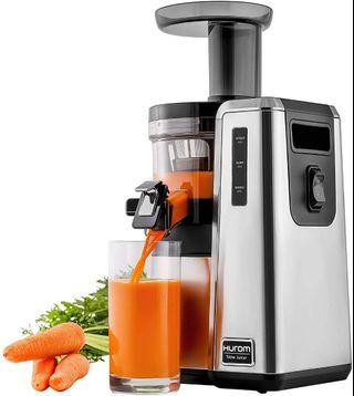 Hurom HZ-2500 Slow Juicer; Silver