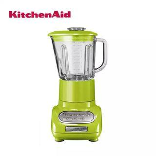 KitchenAid ARTISAN Glass Blender with 1.5L Glass Pitcher & 0.75L Culinary Jar, Green Apple