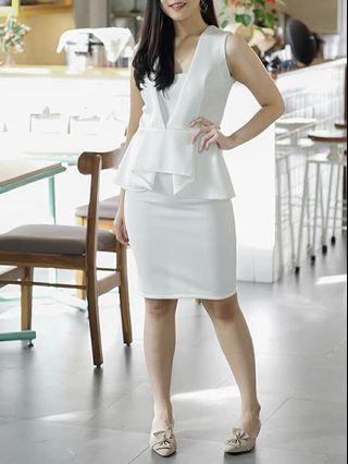 White Dress Avrofey