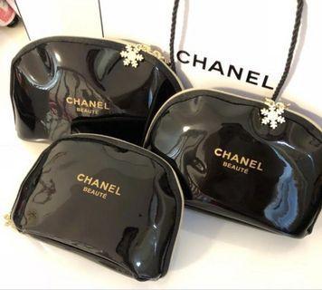 Chanel Flower Zip