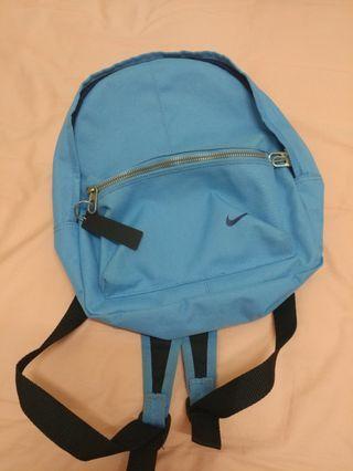 Nike 後背包 小童後背包 藍色[出清]