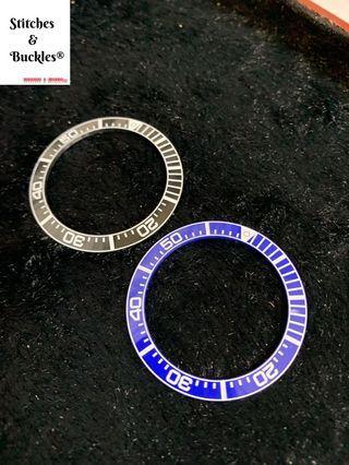 Ceramic Luminous Bezel Inserts for Seiko Prospex Samurai Models