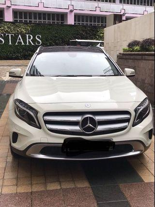 MERCEDES-BENZ GLA200 2015 (15,000km only)