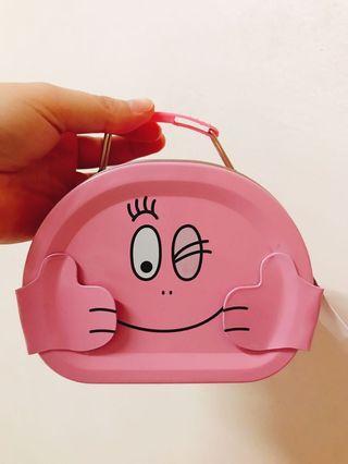 日本最新 泡泡先生 超級可愛手提小鐵盒 糖果餅乾