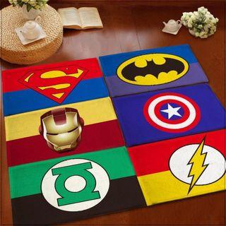 AVENGERS SUPERHEROES Floormat / Anti Slip Rug Floor Mat
