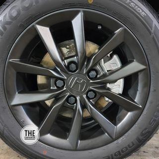 Honda Civic FC Rims Plastidip Plasticdip Plastic Dip Plasti Dip Service