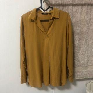 Uniqlo Mustard Top