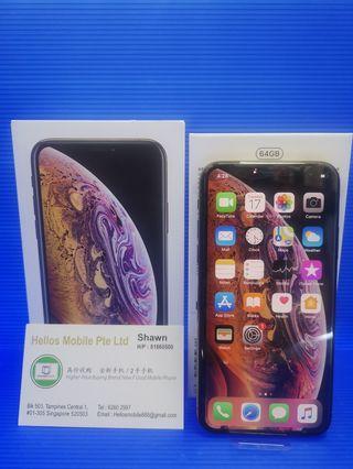 iPhone XS 64gb gold(used)