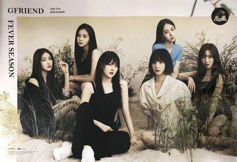 Clearance Gfriend Official Album Posters