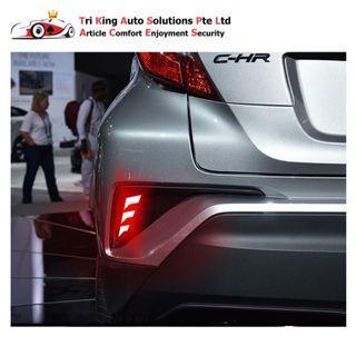 Toyota CHR Rear Bumper Reflector LED Light