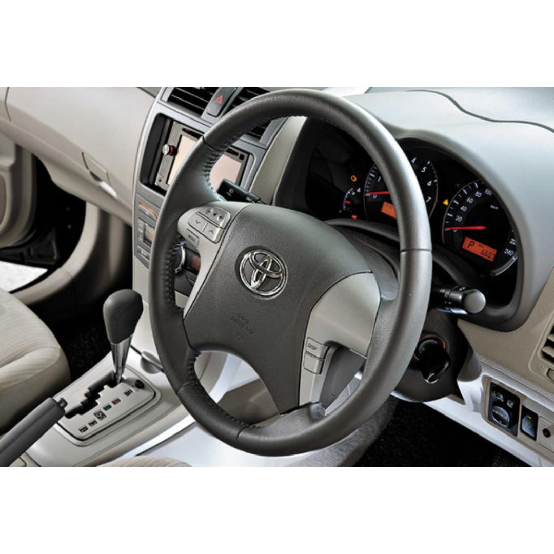 2010 Toyota Altis 1.6 Private-Hire Z10 Car Rental/Leasing.