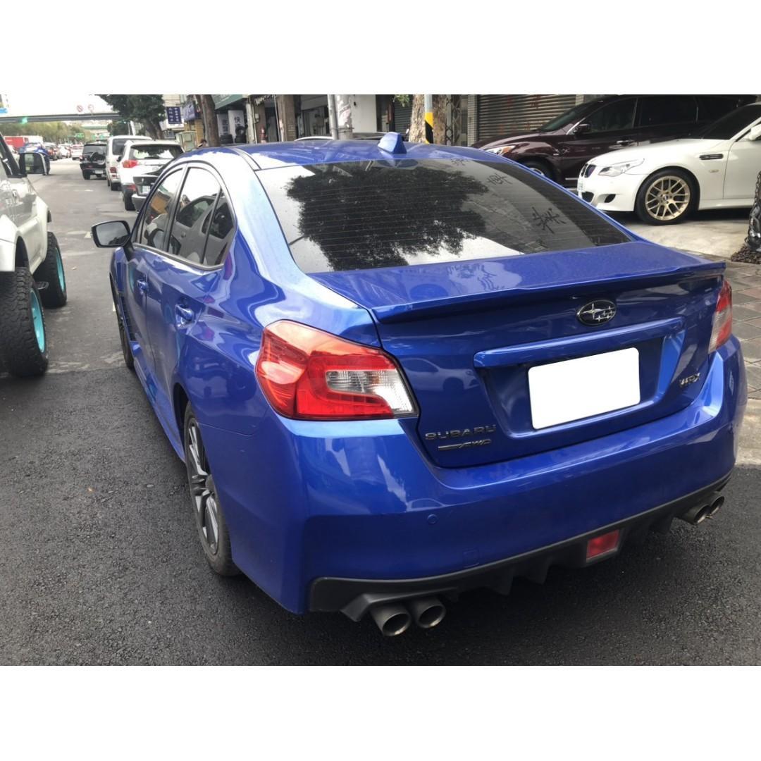 2014年WRX藍色