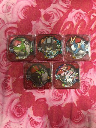 Pokemon tretta Z2 Masters Card set