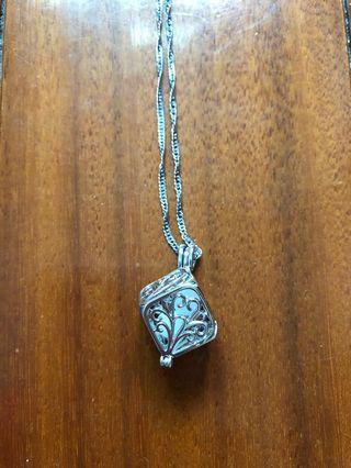 純銀水晶項鍊