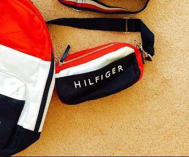 Tommy Hilfiger 經典logo 三用包