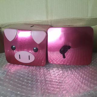 Metal Container: Limited Edition Piggy Bank from Benefit Cosmetics