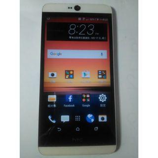 HTC Desire 826 D826y 4G LTE八核5.5吋智慧手機,藍芽歪壞故障,其他功能都正常,只賣1400元