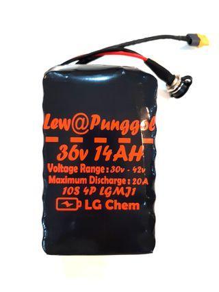 ***In-Stock = LG MJ1 36v 14AH Discharge 20A Internal External DYU