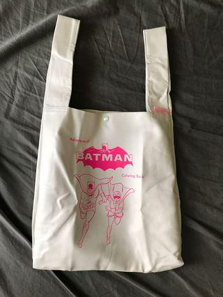 日雜 附錄 蝙蝠俠托特包 購物袋 jouetie 手提袋 近全新
