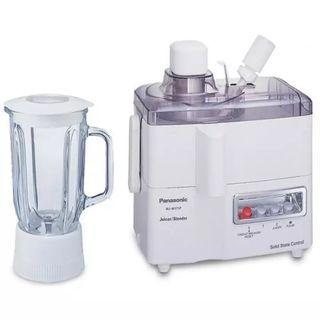 Panasonic MJ-M171PWSP 2-in-1 Juicer Blender, White
