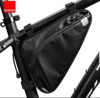 **In-Stock = Triangle Bag Storage Pack Pannier Pouch 1.5L Water Resistant