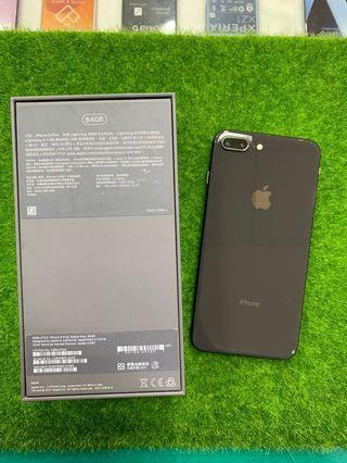 二手iphone8 plus 64g 黑