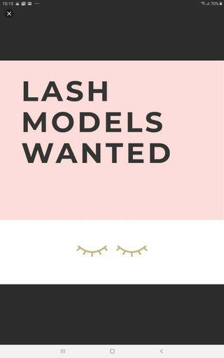 Lash model needed!