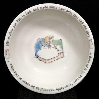 Original F.W & Co. Beatrix Potter Peter Rabbit Porcelain Bowl