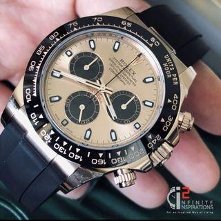 Rolex Daytona Rosegold 116515LN Oysterflex in Rosegold - Complete Set