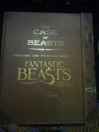 [WTS][INCLUDES POSTAGE] FANTASTIC BEASTS AND WHERE TO FIND THEM - THE CASE OF BEASTS
