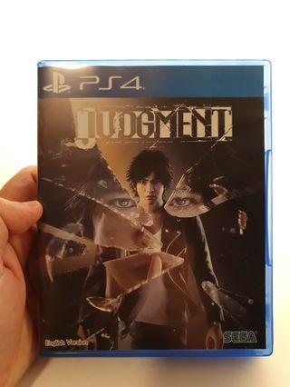 Judgment PS4 Game Judgement Yakuza