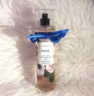 BATH & BODY WORKS ROSE FINE FRAGRANCE MIST #joinoktober
