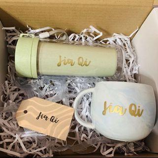 gift box set marble mugs Mug cup cups gift Teacher's Day teacher teachers' gifts present presents bulk cheap office corporate staff farewell graduation colleague birthday Friend colleagues Wife