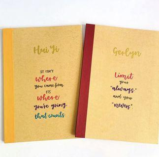 notebook gift gifts kids Day graduation graduating present presents colleague colleagues farewell cheap bulk corporate office staff childrens kid children's childrens' students student notebooks note book
