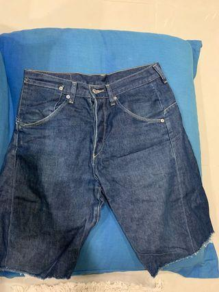 Levi's 3D剪綵短褲