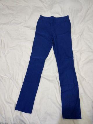 寶藍色內搭褲