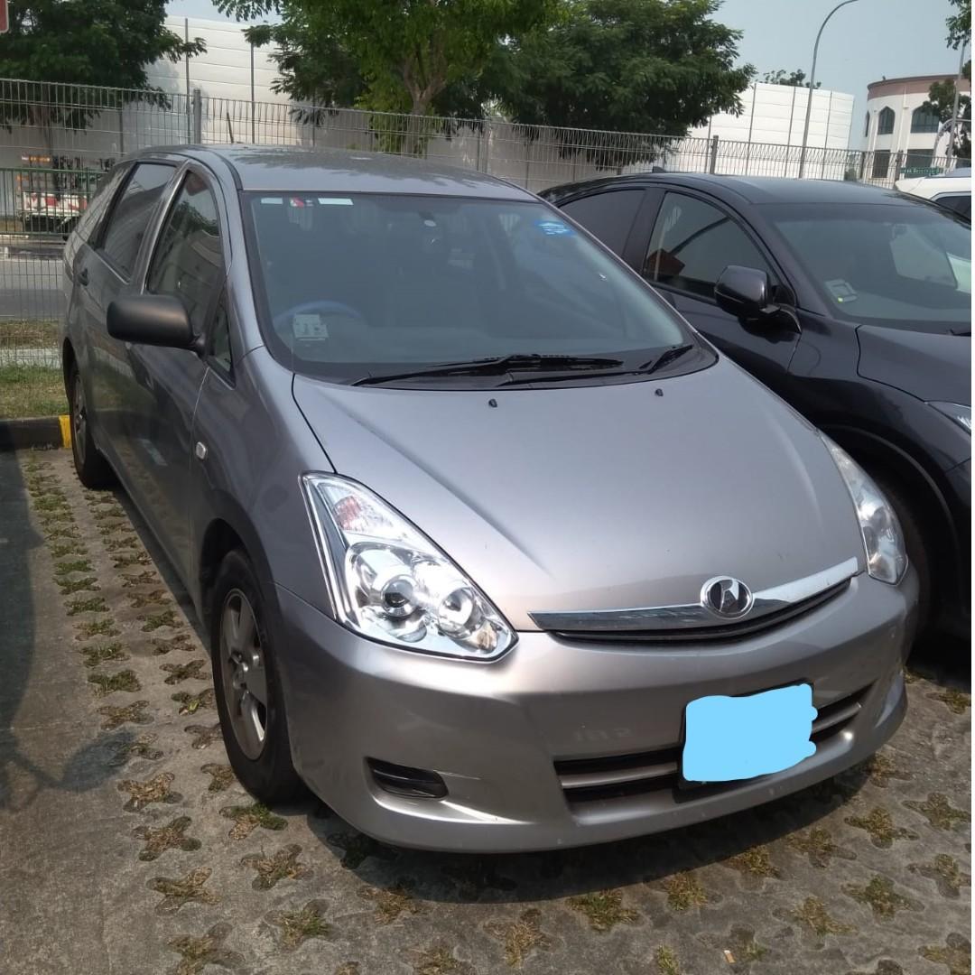 3 Month Contract - Toyota Wish / Honda Stream
