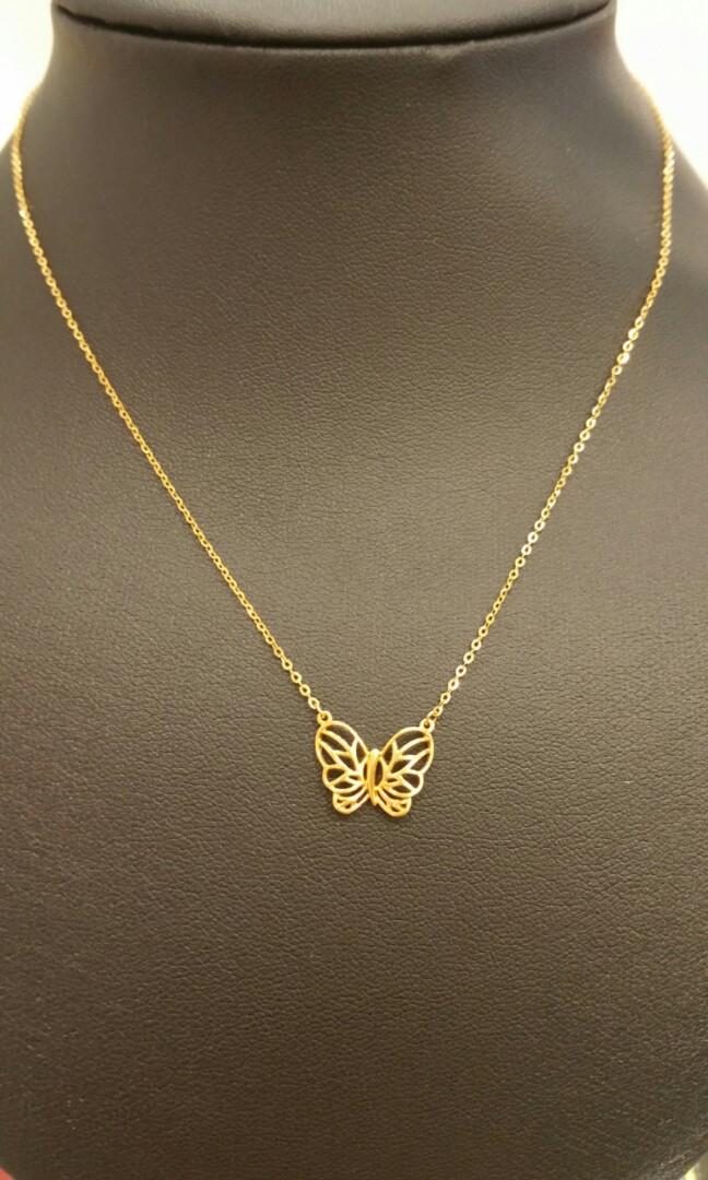 916 butterfly necklaces