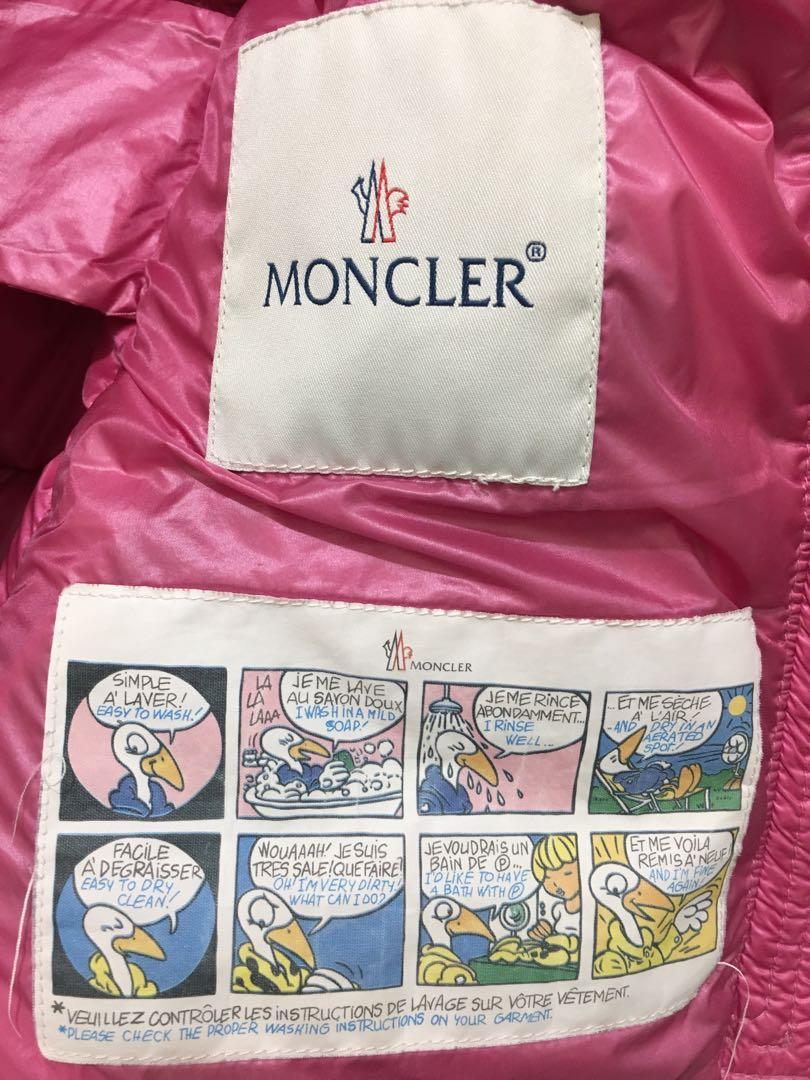 超超值 Moncler berre 3a 女孩 羽絨外套 厚外套 連帽可拆 3y 100cm 90cm 女童羽絨外套