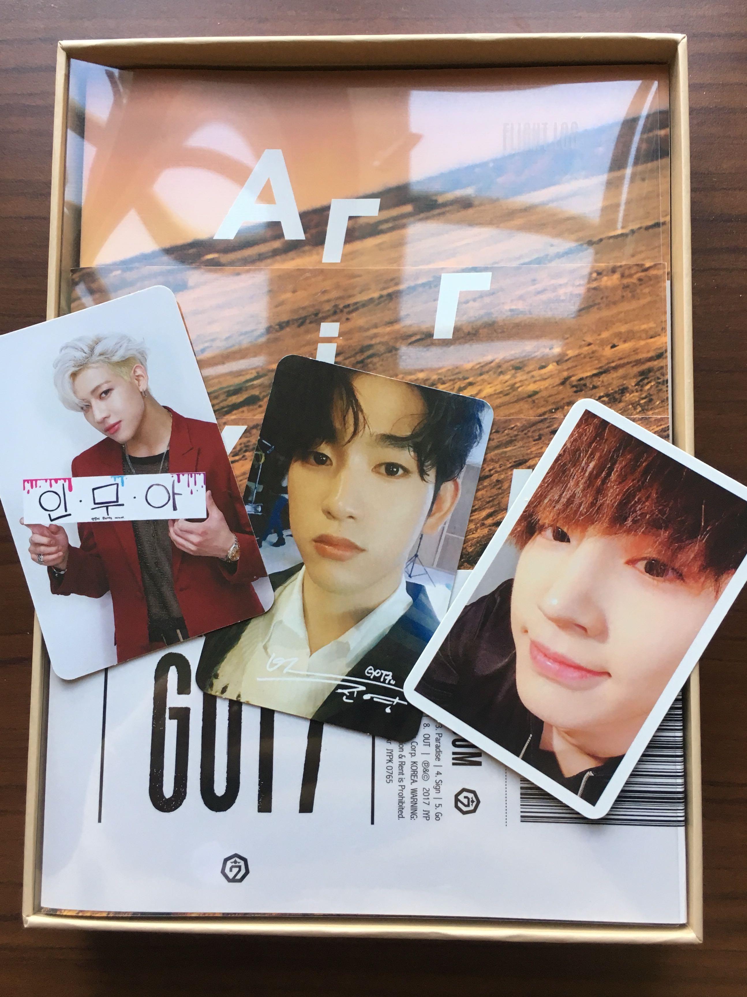 [ WTS ] Got7 Flight Log : Arrival Album