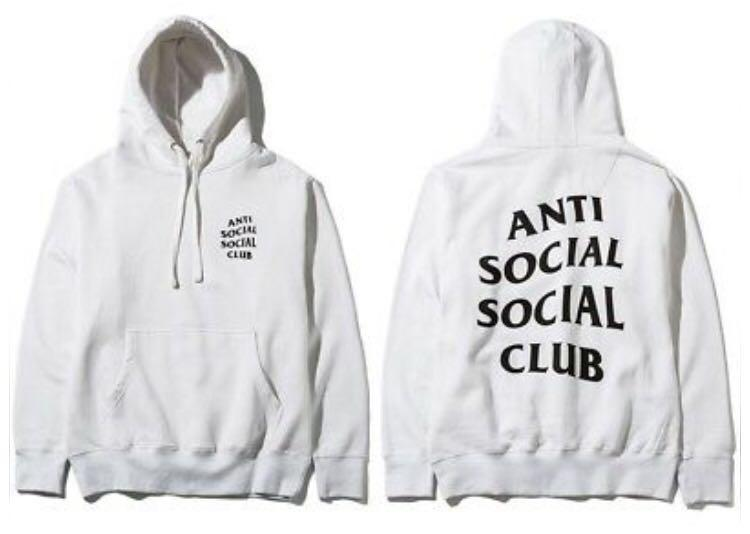 Anti Social Social Club Hoodie Size S
