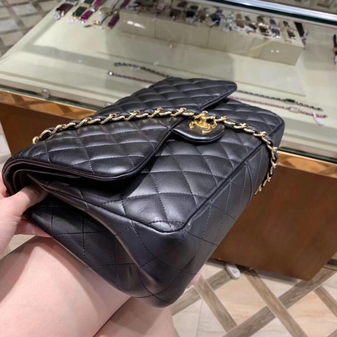 Authentic Pre-loved Chanel Jumbo Double Flap Lambskin
