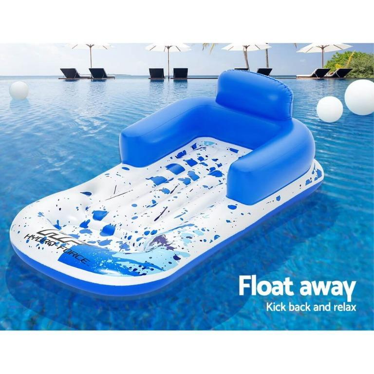 Bestway Pool Lounge Chair Inflatable Swimming Comfy Cool Floating ChairItem