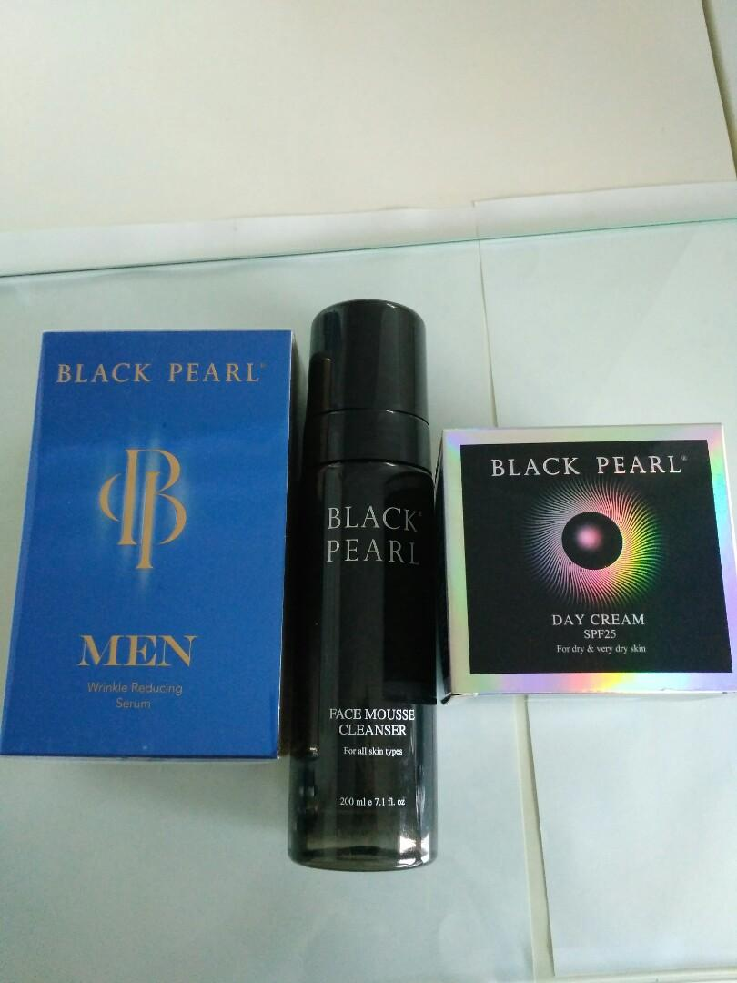Black Pearl Facial Products