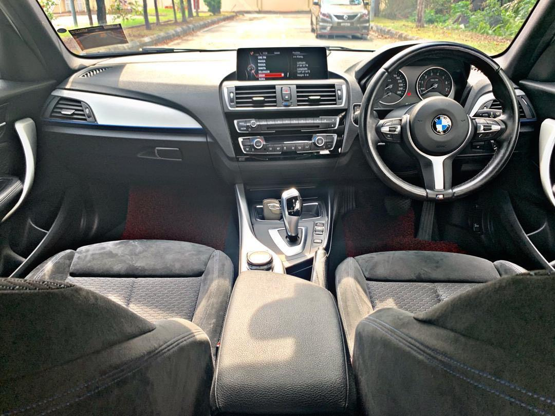 BMW 120i MSPORT 1.6 AUTO SEWABELI BERDEPOSIT TWIN POWER TURBOPUSHSTART BUTTON/KEYLES LCI GEAR BOX